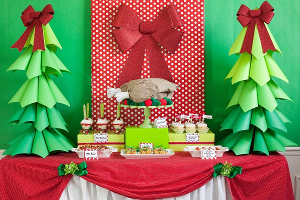 image source - Christmas Party Decorations