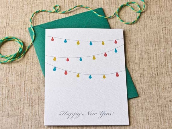 Handmade New Year Greeting Cards 2016
