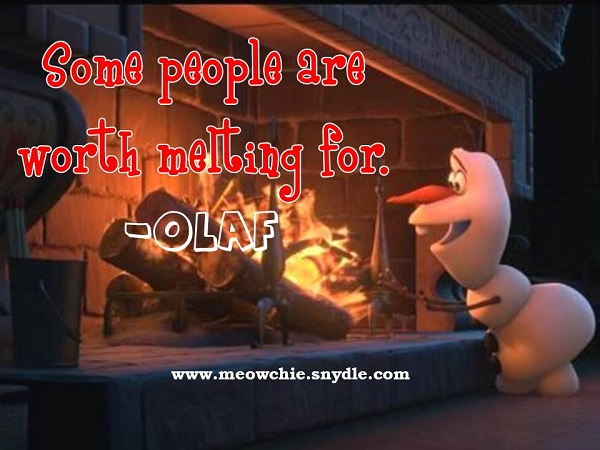 frozen-quotes-olaf-some-people-are-worth-melting-for