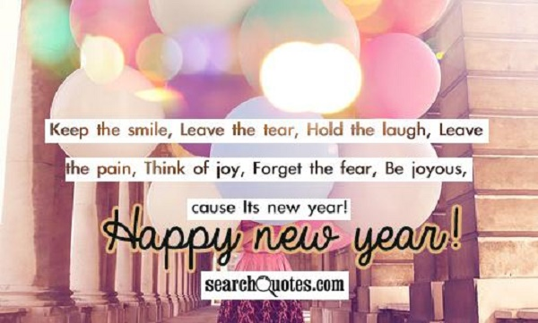 happy new year quotes and sayings 2017 pink lover