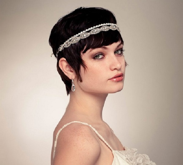 Wedding-Hairstyles-for-Short Hair-1