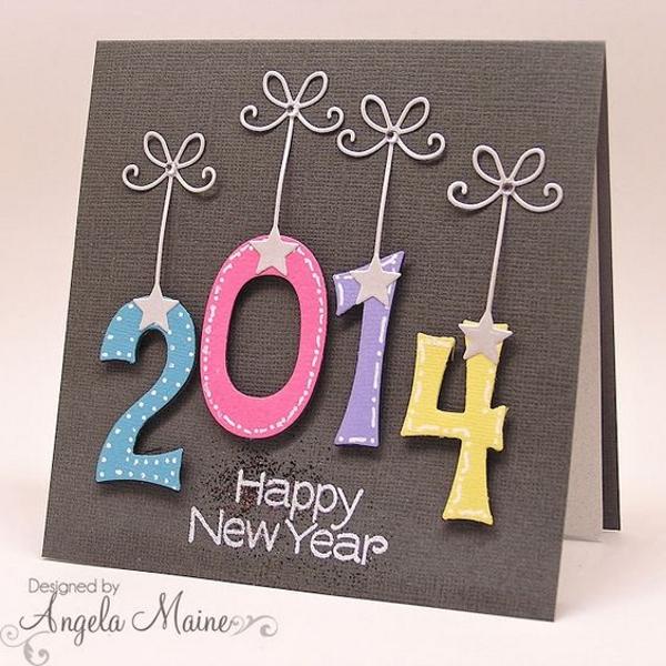 Handmade New Year Greeting Cards 2016