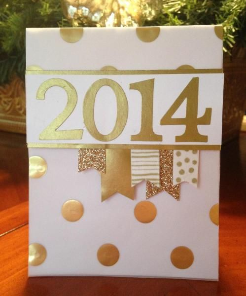 Handmade new year greeting cards 2016 pink lover m4hsunfo Images