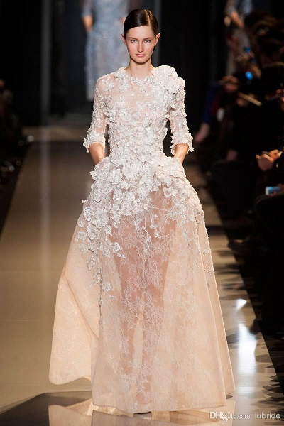 Elie saab wedding dress designs pink lover elie saab wedding dress designs junglespirit Images