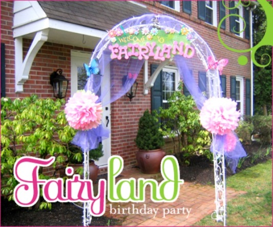 check out this Fairy Birthday Party theme here.