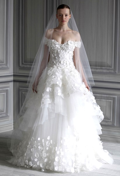 beautiful wedding dress