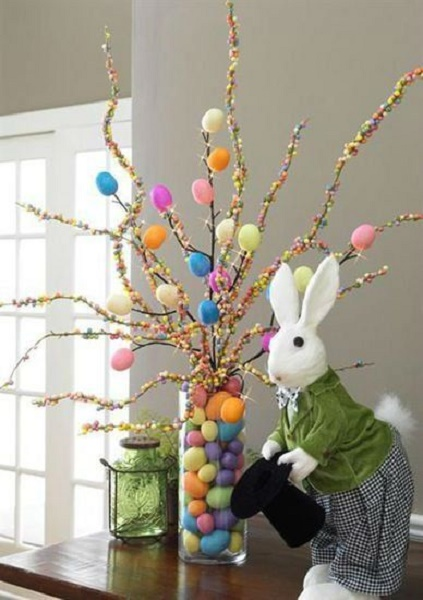 Creative easter decoration ideas 2017 pink lover for Easter home decorations