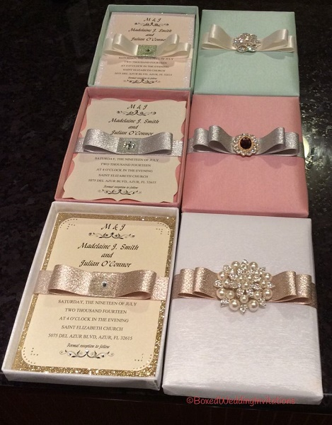 beautiful wedding invitation