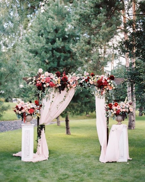 Beautiful Outdoor Wedding Ideas: 50 Garden Wedding Ideas 2017