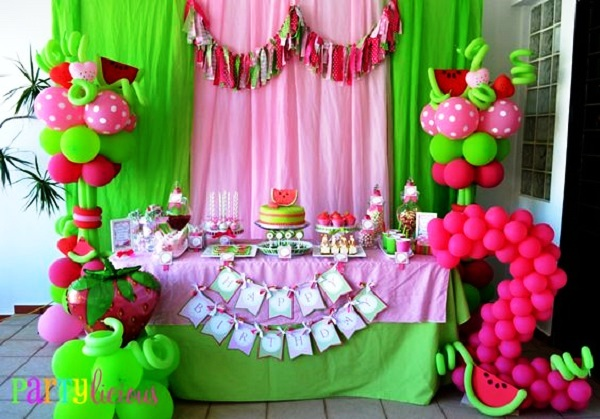 Watermelon Birthday Decors