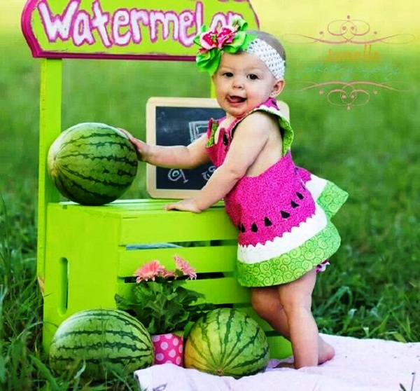 Watermelon birthday party ideas for your little girls birthday watermelon birthday costumes solutioingenieria Gallery