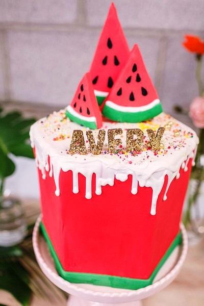 Watermelon Birthday Cake Ideas