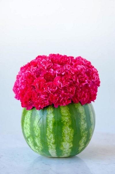 Watermelon Birthday DIY Centerpiece