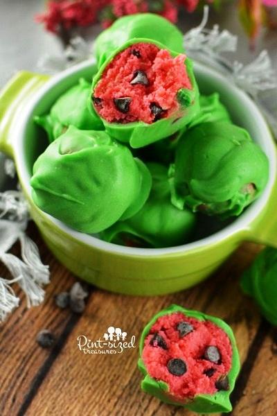 Watermelon Birthday Dessert