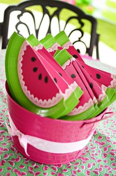 Watermelon Birthday Ideas