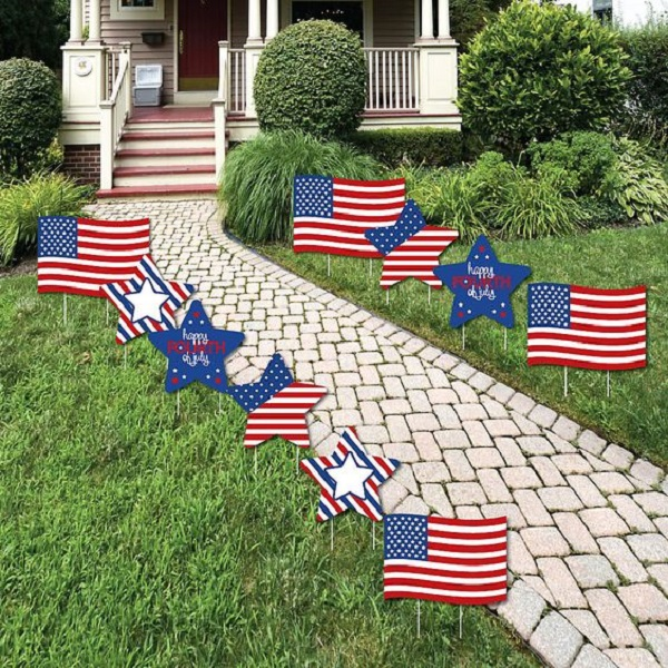 4th Of July Party Ideas With The Blue Red And White Pride