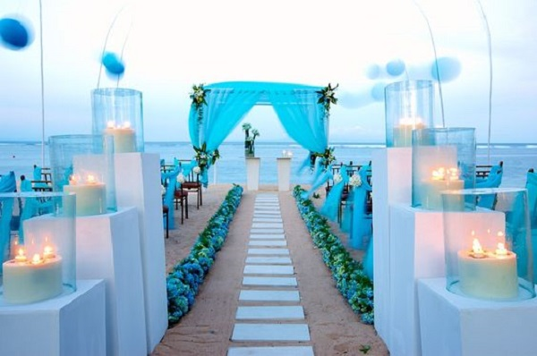 Beautiful beach wedding decorations pink lover beautiful beach wedding decorations junglespirit Image collections