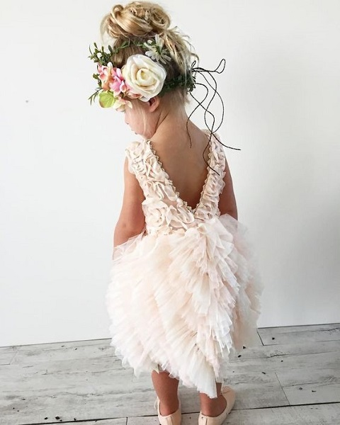 Most Incredible Flower Dress Image Source