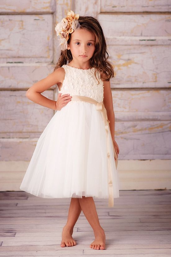 Flower girl dresses that will turn them into little ladies mightylinksfo
