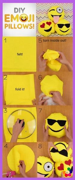 DIY Emoji Pillow