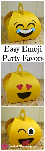 Emoji Party Favors