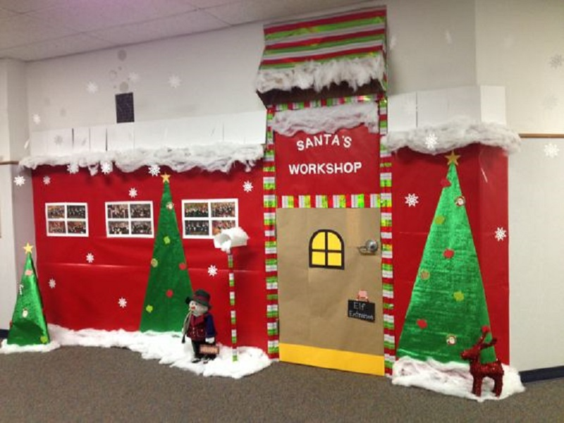 Christmas Decorating Ideas For Office Door : Christmas decoration ideas for office that everyone will love
