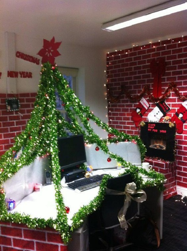 Good Diy Christmas Decorations For The Office