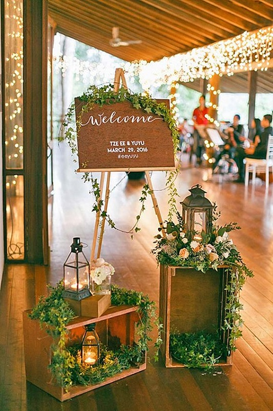 DIY-Wedding-entrance-decorations
