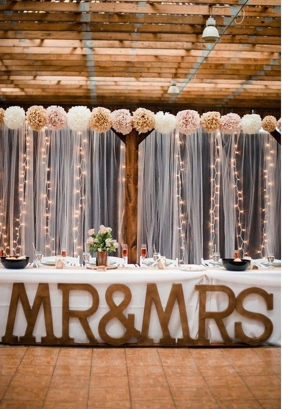 Diy wedding decoration ideas that would make your big day for Background decoration for wedding